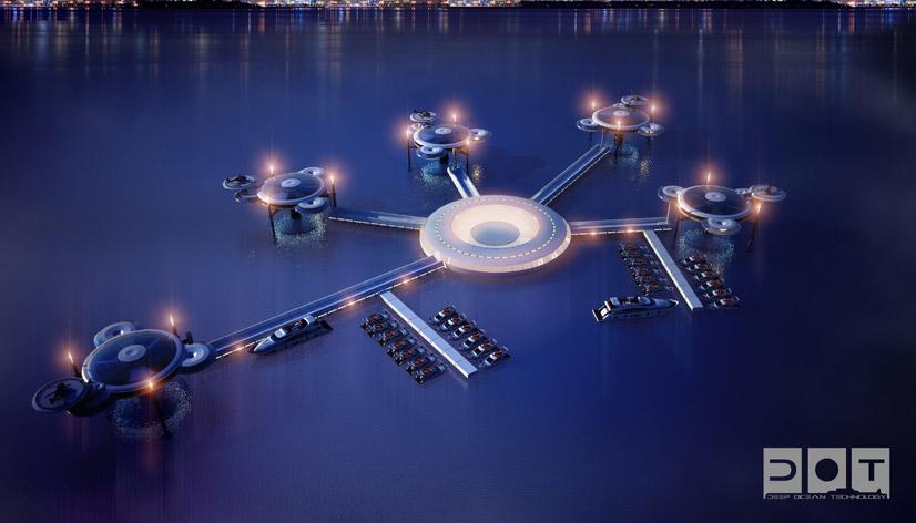deep ocean technology underwater hotel