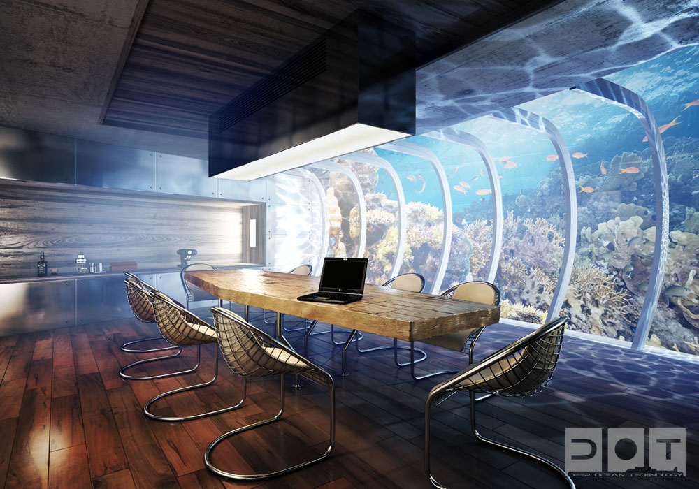 Deep ocean technology underwater hotel for Hotel concepts