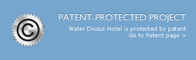 Underwater Hotel is protected by patent